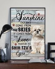 Shih Tzu Comes From The Love 11x17 Poster lifestyle-poster-2