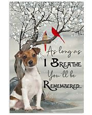 Jack Russell I Breathe 11x17 Poster front