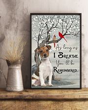 Jack Russell I Breathe 11x17 Poster lifestyle-poster-3
