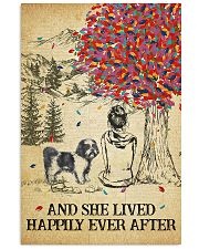 Shih Tzu She Lived Happily 11x17 Poster front