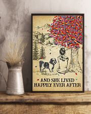 Shih Tzu She Lived Happily 11x17 Poster lifestyle-poster-3