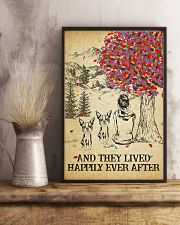 2 Bostons She Lived Happily 1 11x17 Poster lifestyle-poster-3