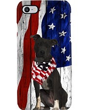Black Pit Bull Usa Flag Phone Case i-phone-7-case