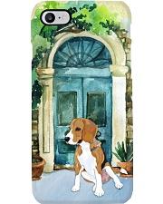 beagle outside the house Phone Case i-phone-7-case