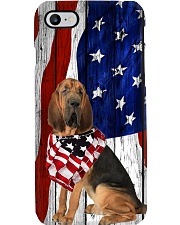 Bloodhound Usa Flag Phone Case i-phone-7-case