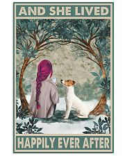 Jack Russell Happily Ever After Pink 11x17 Poster front