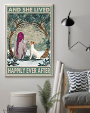 Jack Russell Happily Ever After Pink 11x17 Poster lifestyle-poster-1