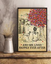 Dalmatian She Lived Happily 11x17 Poster lifestyle-poster-3