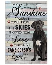 Cane Corso Comes From The Love 11x17 Poster front
