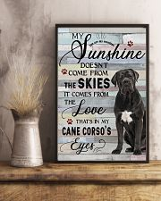 Cane Corso Comes From The Love 11x17 Poster lifestyle-poster-3