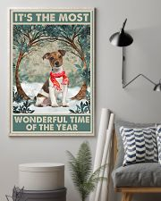 Jack Russell Most Wonderful Time 11x17 Poster lifestyle-poster-1