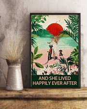 Dachshund and she lived 11x17 Poster lifestyle-poster-3