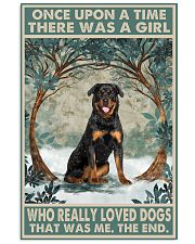 Rottweiler Once Upon A Time 11x17 Poster front