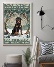 Rottweiler Once Upon A Time 11x17 Poster lifestyle-poster-1