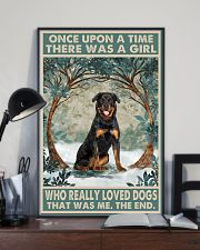 Rottweiler Once Upon A Time 11x17 Poster lifestyle-poster-2