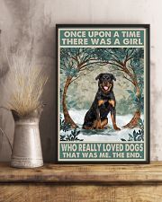 Rottweiler Once Upon A Time 11x17 Poster lifestyle-poster-3