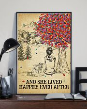 English Bulldog She Lived Happily 11x17 Poster lifestyle-poster-2