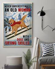golden skiing skills 11x17 Poster lifestyle-poster-1