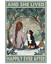 Bernese Mountain Happily Ever After 11x17 Poster front