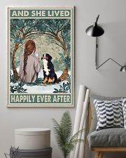 Bernese Mountain Happily Ever After 11x17 Poster lifestyle-poster-1