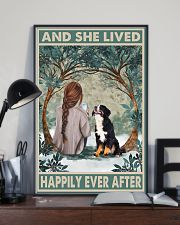 Bernese Mountain Happily Ever After 11x17 Poster lifestyle-poster-2