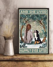 Bernese Mountain Happily Ever After 11x17 Poster lifestyle-poster-3