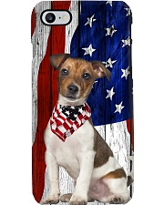 Jack Russell Usa Flag Phone Case i-phone-7-case
