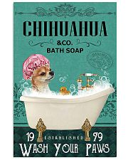 Dog Chihuahua Bath Soap 11x17 Poster front