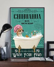 Dog Chihuahua Bath Soap 11x17 Poster lifestyle-poster-2