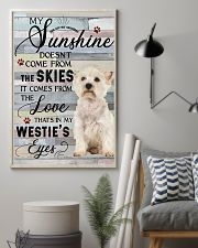 Westie Comes From The Love 11x17 Poster lifestyle-poster-1