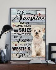 Westie Comes From The Love 11x17 Poster lifestyle-poster-2
