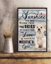 Westie Comes From The Love 11x17 Poster lifestyle-poster-3