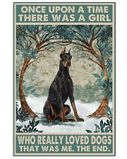 Doberman Pinscher Once Upon A Time 11x17 Poster front
