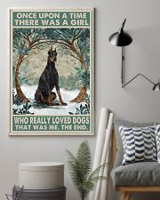 Doberman Pinscher Once Upon A Time 11x17 Poster lifestyle-poster-1