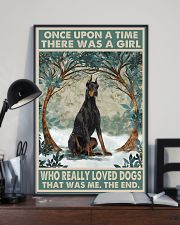Doberman Pinscher Once Upon A Time 11x17 Poster lifestyle-poster-2