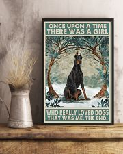 Doberman Pinscher Once Upon A Time 11x17 Poster lifestyle-poster-3