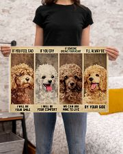 poodle alway be by your side 24x16 Poster poster-landscape-24x16-lifestyle-20