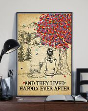Westie She Lived Happily 11x17 Poster lifestyle-poster-2