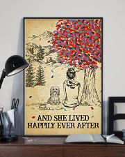 Havanese She Lived Happily 11x17 Poster lifestyle-poster-2