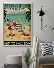 Jack Russell Beach Cocktail Life 11x17 Poster lifestyle-poster-1