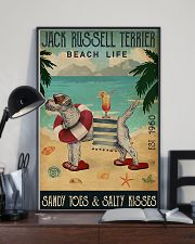 Jack Russell Beach Cocktail Life 11x17 Poster lifestyle-poster-2