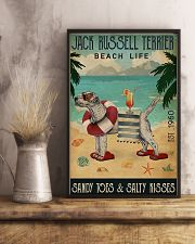 Jack Russell Beach Cocktail Life 11x17 Poster lifestyle-poster-3