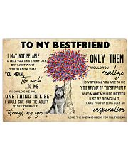 Husky To My Bestfriend 17x11 Poster front