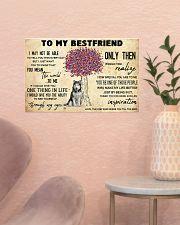Husky To My Bestfriend 17x11 Poster poster-landscape-17x11-lifestyle-22