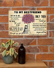 Husky To My Bestfriend 17x11 Poster poster-landscape-17x11-lifestyle-23