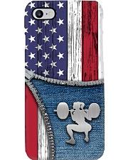 Weightlifting Usa Flag Phone Case i-phone-8-case