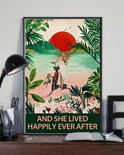 Pug and she lived 11x17 Poster lifestyle-poster-2