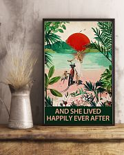 Pug and she lived 11x17 Poster lifestyle-poster-3