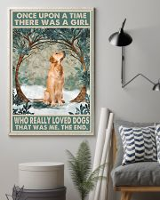 Golden Retriever Once Upon A Time 11x17 Poster lifestyle-poster-1