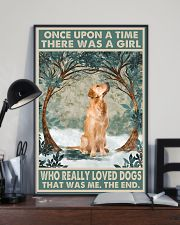 Golden Retriever Once Upon A Time 11x17 Poster lifestyle-poster-2